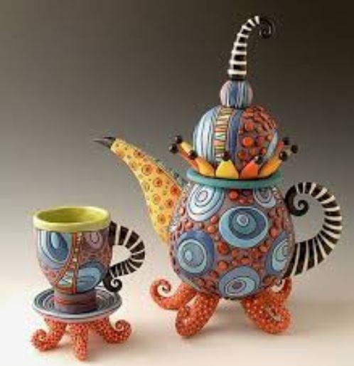 Freaky teapot