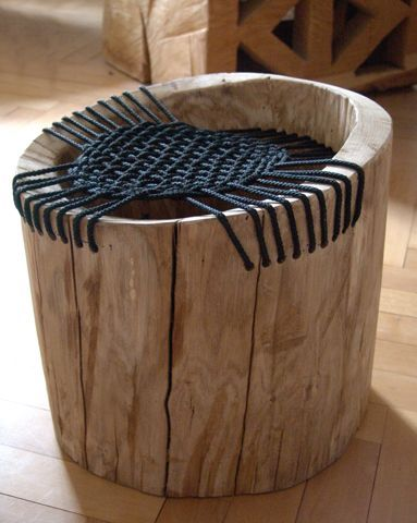 old timber chair